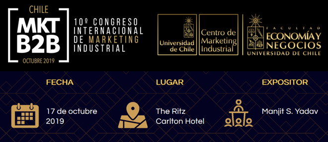 Congreso Internacional de Marketing Industrial en contextos B2B