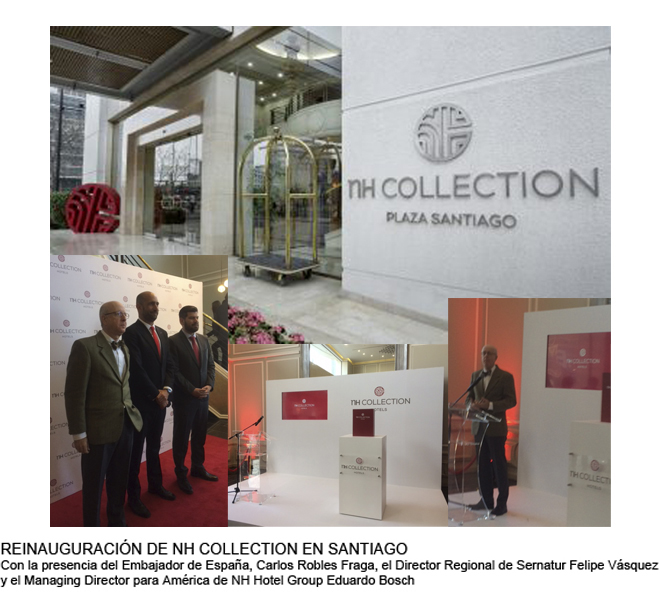 NH HOTEL GROUP REINAUGURA SU PRIMER HOTEL NH COLLECTION EN SANTIAGO